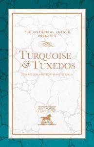 2019 Turquoise and Tuxedos Invitation