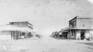 Tombstone, AZ, Street Scene, ca. 1881. AHS Photo #60672