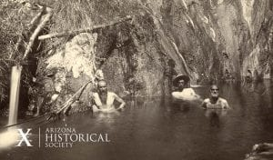 Castle Hot Springs, AZ, ca. 1900. AHS Photo #41081