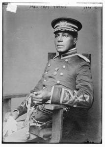 Maj. Chas. Young courtesy Library of Congress