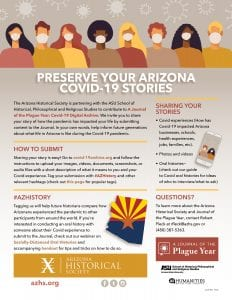 Journal of a Plague Year Share Your Arizona Pandemic Story
