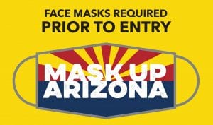 Face Masks Required Prior to Entry