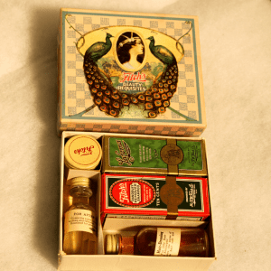 Beauty Haul: Powders, Creams, and Makeup from the 1920s
