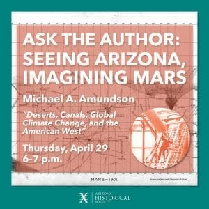 Ask the Author Seeing Arizona Imagining Mars